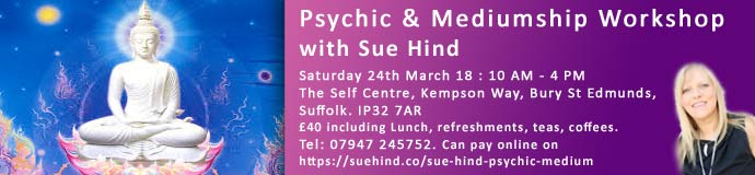 Psychic & Mediumship Workshop