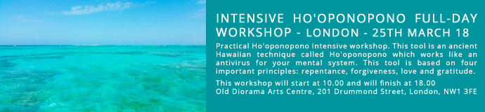 INTENSIVE HO'OPONOPONO FULL-DAY WORKSHOP