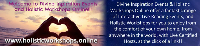 Divine Inspiration Events & Holistic Workshops Online Launch