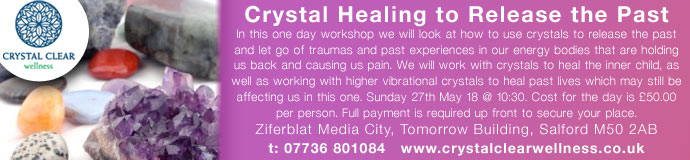 Crystal Healing to Release the Past