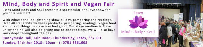Mind, Body and Spirit and Vegan Fair