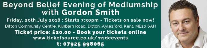 BEYOND BELIEF EVENING OF MEDIUMSHIP   with GORDON SMITH