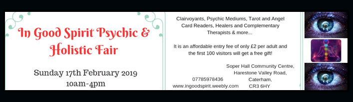 In Good Spirit Psychic And Holistic Fair