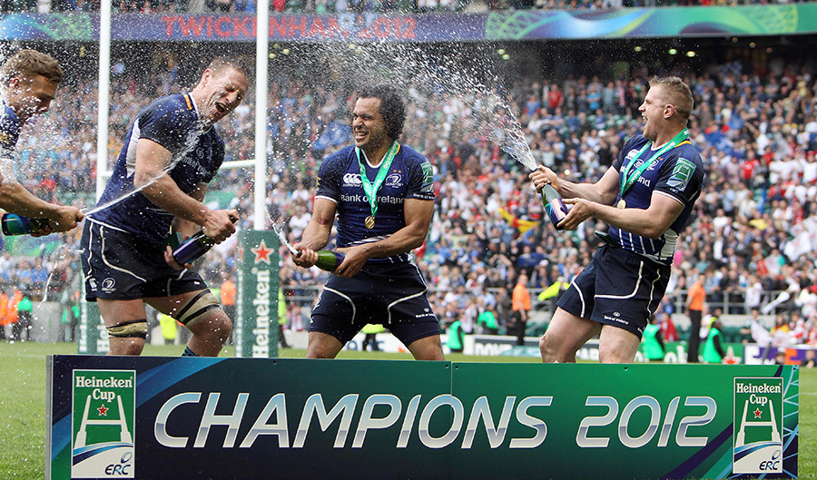 Leinster's Heineken Cup Final win v Ulster in 2012