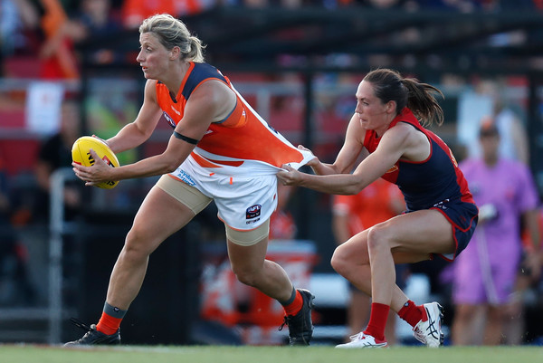 Cora Staunton in action against Melbourne