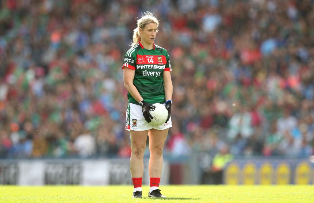 Mayo Cora Staunton Free Kick