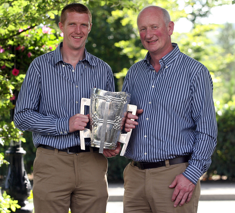 Henry Shefflin's Career 24/3/2015 All Ireland Champions Kilkenny Homecoming, 3/7/2007 Henry Shefflin and Brian Cody Mandatory Credit ©INPHO/Lorraine O'Sullivan