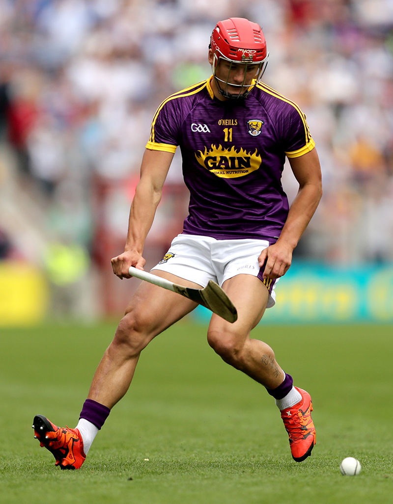 Wexford's Lee Chin. All-Ireland Senior Hurling Championship Quarter-Final, Pairc Ui Chaoimh, Cork 23/7/2017 Wexford vs Waterford Mandatory Credit ©INPHO/James Crombie