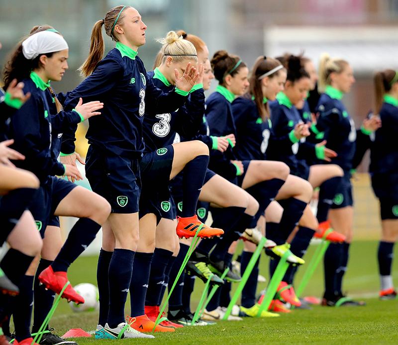 Louise Quinn - TSC - Republic of Ireland Women's Soccer Training, Tallaght Stadium, Dublin 9/4/2018 Louise Quinn Mandatory Credit ©INPHO/Ryan Byrne