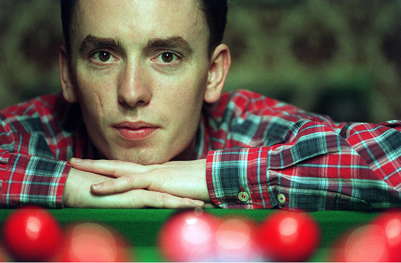 Snooker 19/12/1996 Ken Doherty © INPHO / Tom Honan