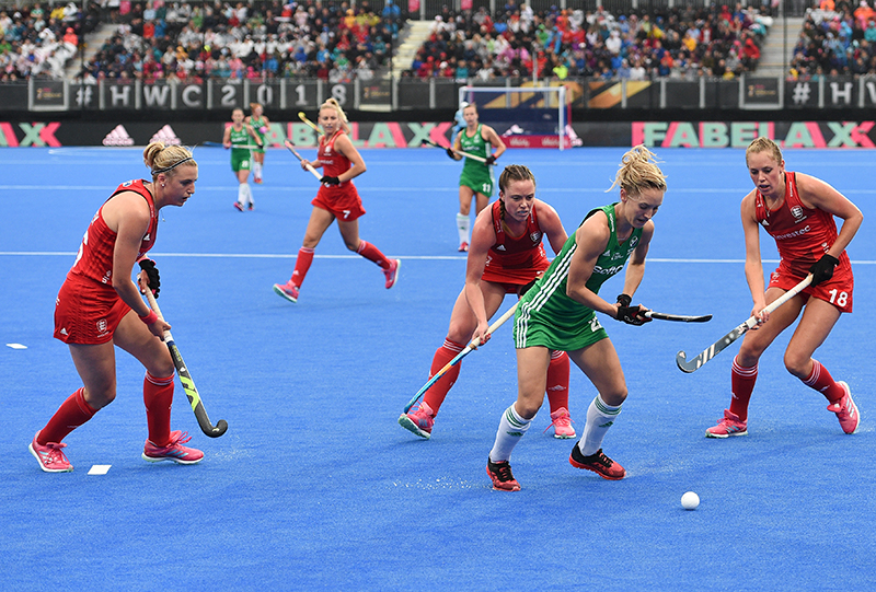 2018 Vitality Hockey Women's World Cup Pool B, Lee Valley Stadium, London, England 29/7/2018 England vs Ireland Ireland's Nicci Daly Mandatory Credit ©INPHO/Joe Toth