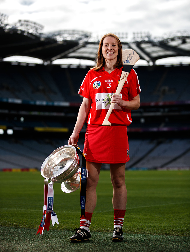 Liberty Insurance All-Ireland Senior Championship Final Cork vs Kilkenny - Rena Buckley, Cork Mandatory Credit ©INPHO/James Crombie