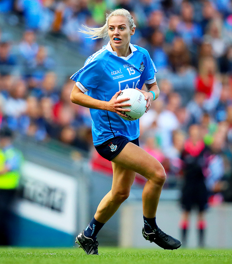 TG4 Ladies Senior All-Ireland Football Championship Final, Croke Park, Dublin 16/9/2018 Dublin vs Cork Dublin's Nicole Owens Mandatory Credit ©INPHO/Oisin Keniry
