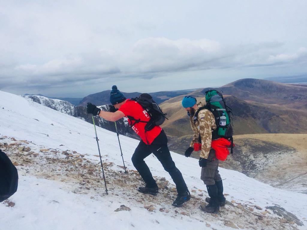 Ed Jackson climbing Snowdon | from EdJackson8.com