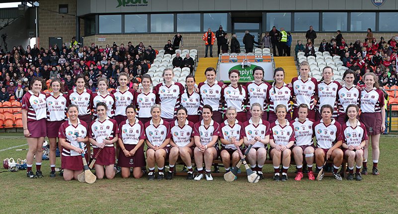 Aoife Ni Chaiside | Slaughtneil Camogie | The Slaughtneil team ©Mark Doherty