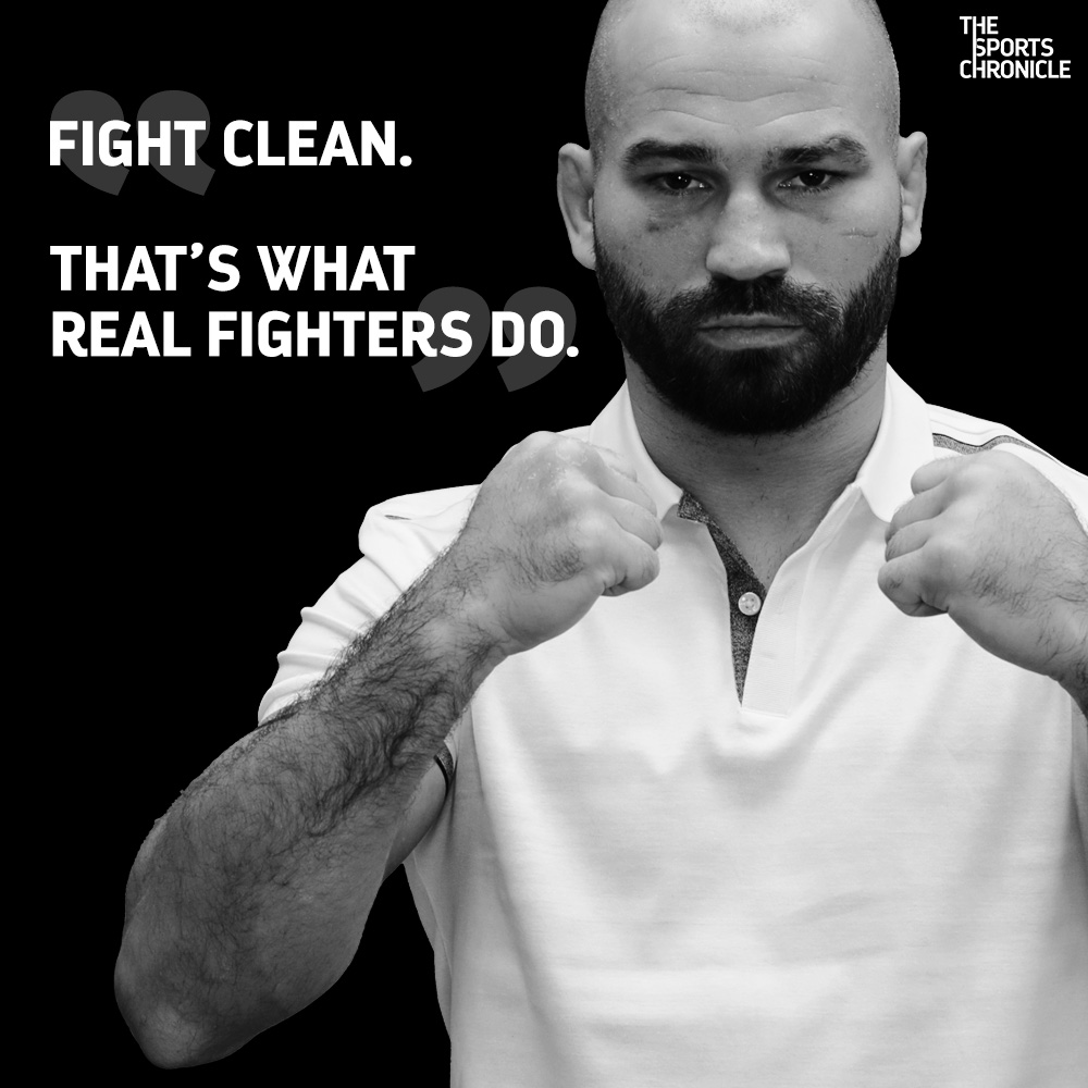 Artem Lobov | Fight Clean | The Sports Chronicle ©The Sports Chronicle