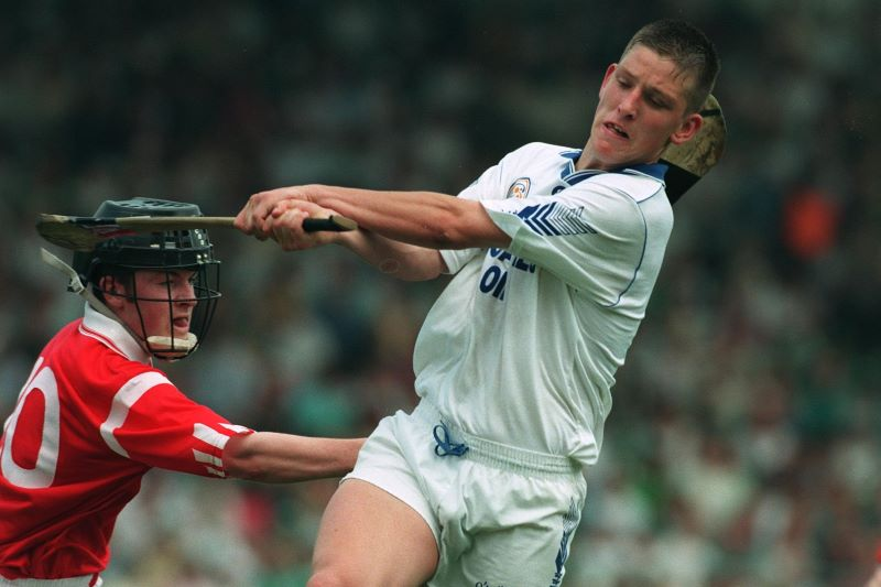 Ken McGrath play for Waterford U21s against Cork, 1995 @Inpho