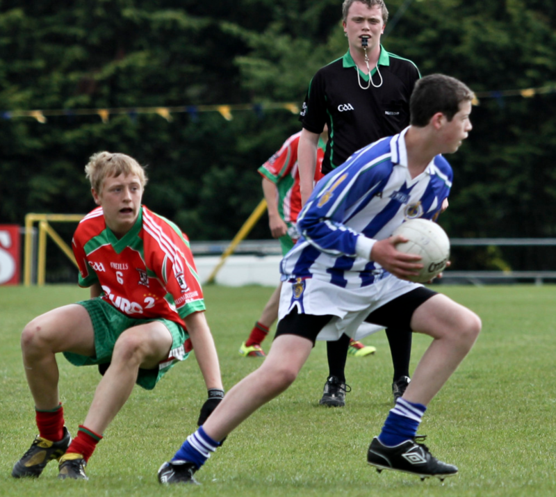 James Talbot playing underage for Ballymun Kickhams v Ballyboden St. Enda's © Declan Kilmartin