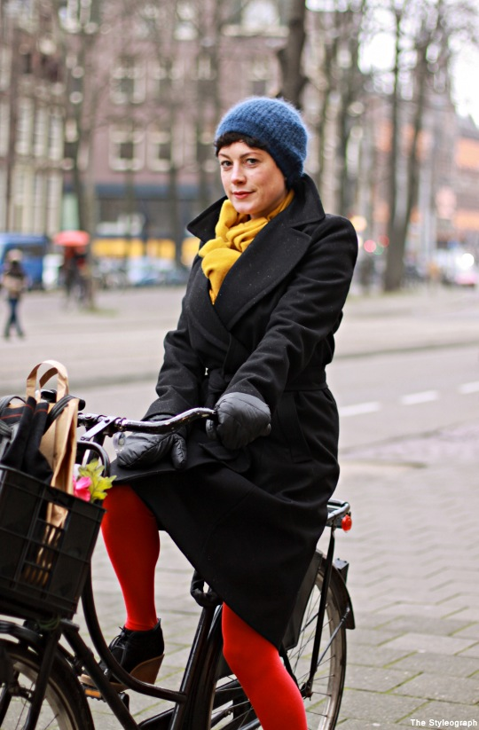 Bicycle Street Style Amsterdam Electronic DJ