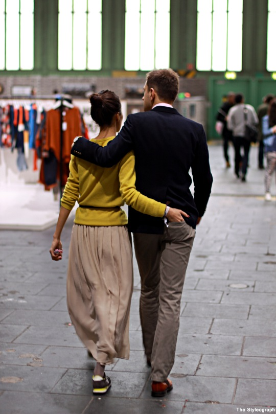 Bread & Butter Couple Street Style Fashion