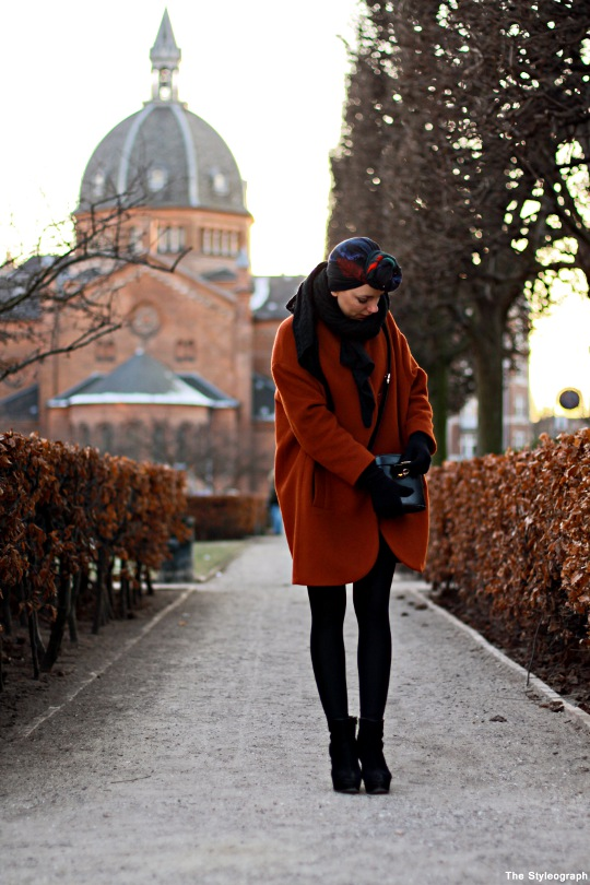 Steet Style Copenhagen Fashion Week Coat