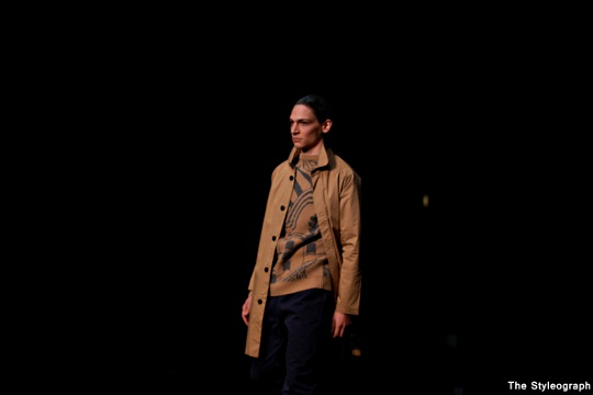 Soulland Men Brown Jacket Winter Collection