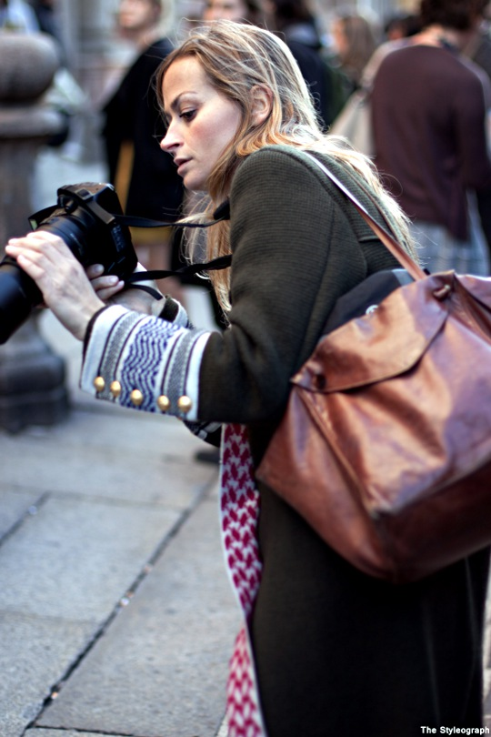 Milano Camera Moda Street Style Photographer Coat