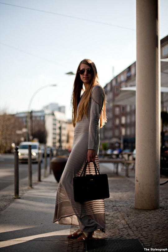 Long Sleeve Dress Women Streetstyle Berlin