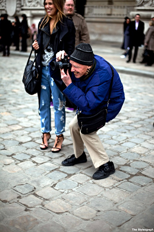 Paris Fashion Street Style Bill Cunningham Photographer