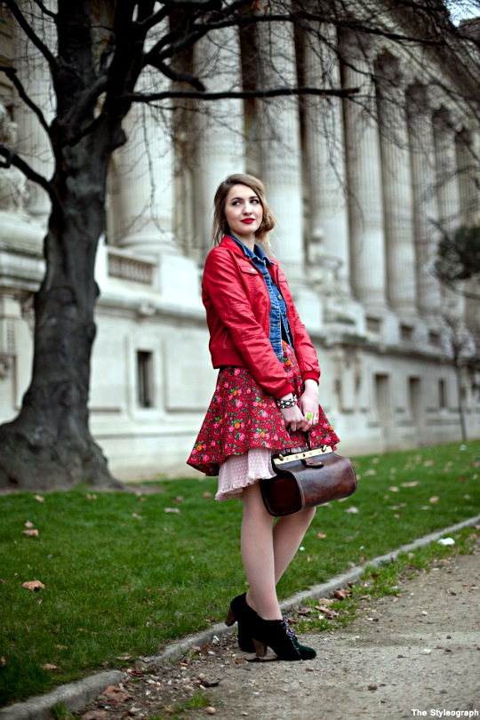 Spring Streetstyle Fashion Week Paris Skirt Women