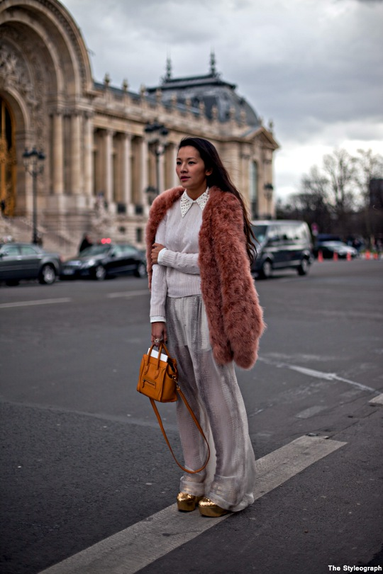 Coat Pants Jacket Street Style Fashion Week Paris Women
