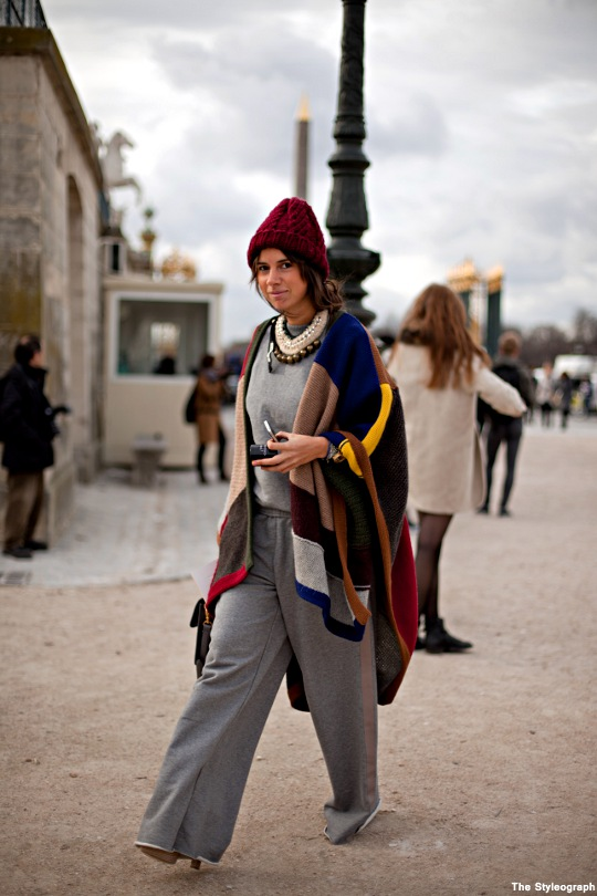 Fashion Week Paris Chloé Street Fashion Spring Natasha Goldenberg