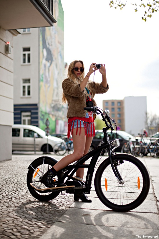 Cycle Style Street Fashion Berlin