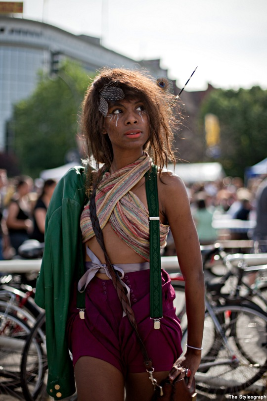 Festival Street Style Fashion Women Feathers