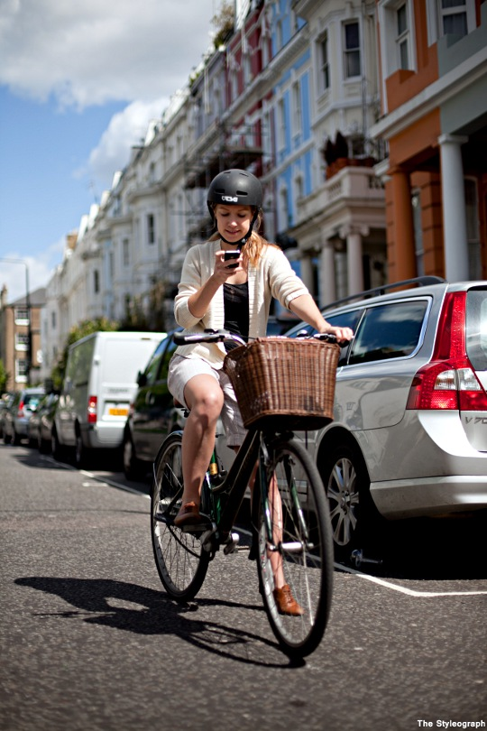 Cycle Style London Helmet Bike Women