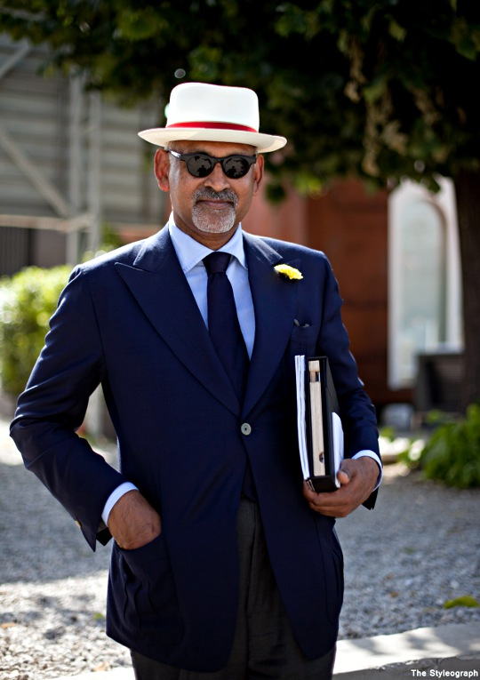 Gentlemen at Pitti Uomo Men's Fashion Italian Classic Summer