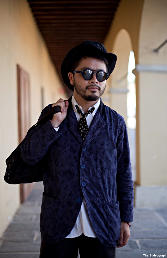 Pitti Uomo Men's Fashion Street Style Summer