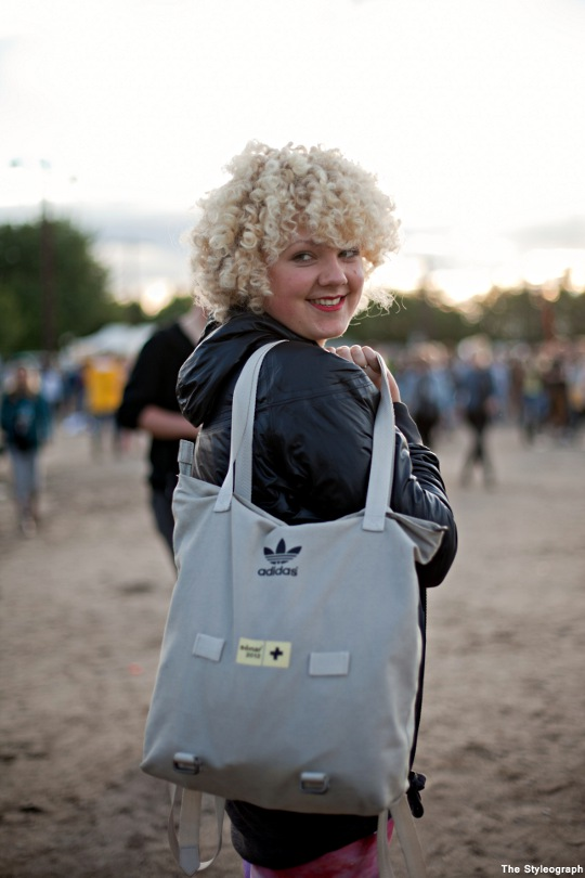 Adidas Backpack at Melt Festival Fashion