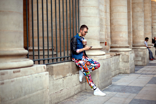 Hermès Street Fashion Sneakers Print Suit