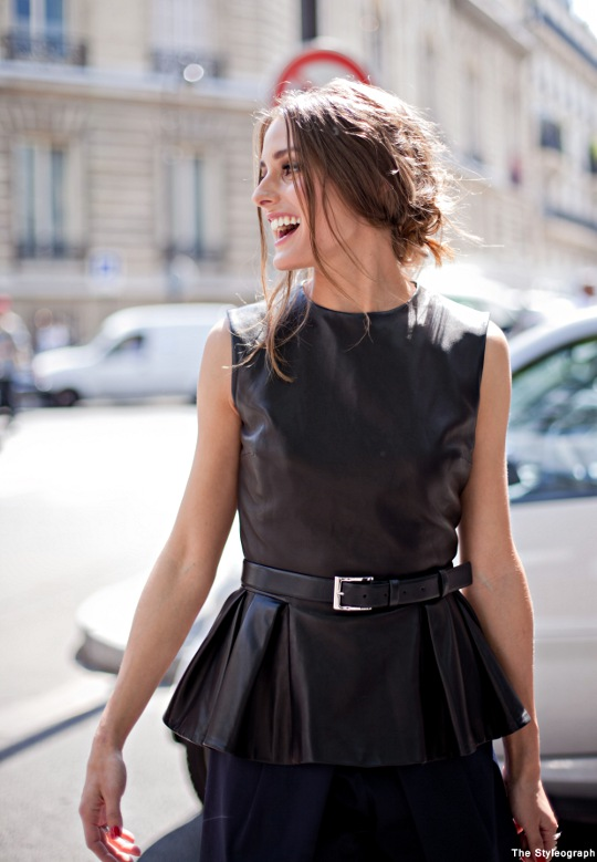 Olivia Palermo Street Style Paris Haute Couture