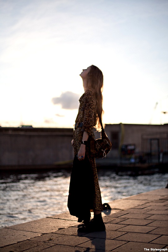Beata Holmgren Stockholm Street Style Fashion Week Day 1