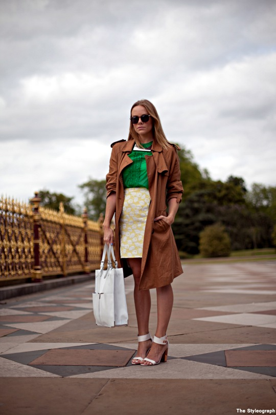 Street Style Burberry London Trench Coat for Women