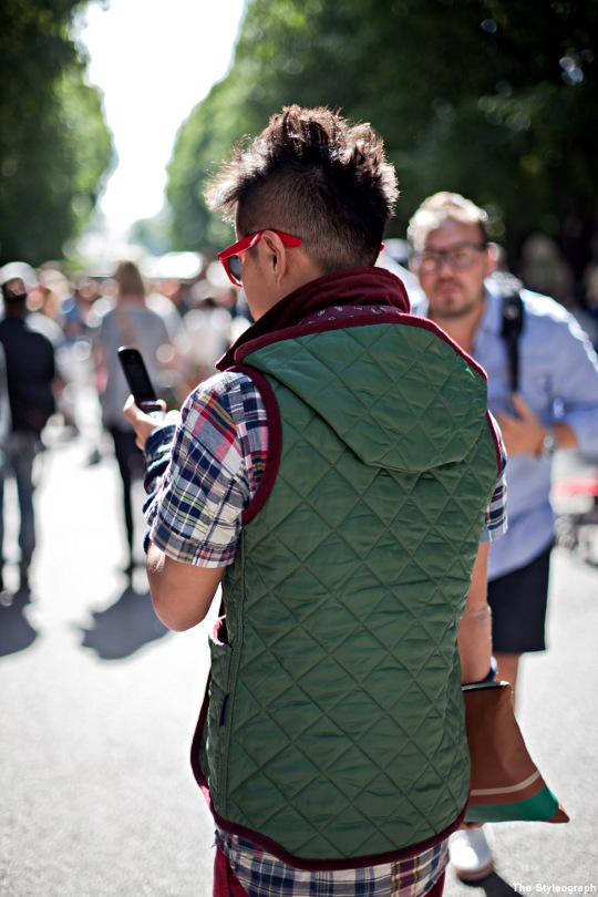Quilted Gilet for Men Street Style