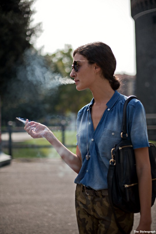 Jeans Shirt for Women Milan Street Style