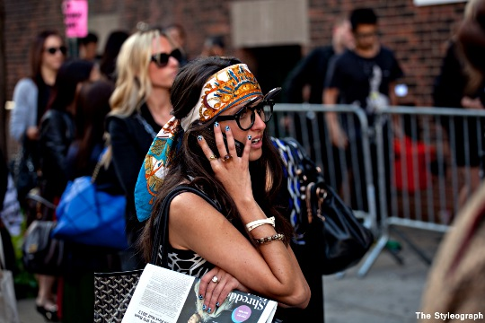 Headband Marc by Marc Jacobs New York Fashion Week SS13