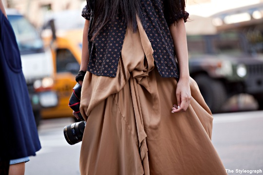 Nadia Sawar Streetstyle New York Fashion Week