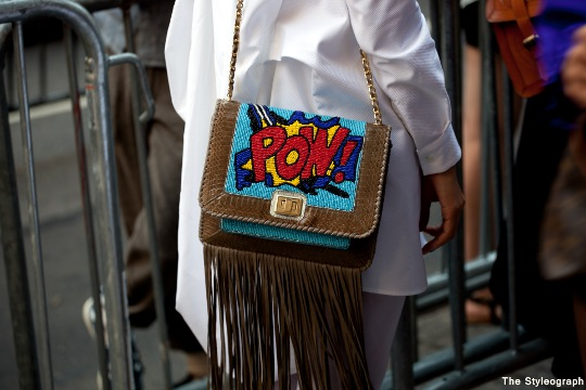 pow bag new york fashion week