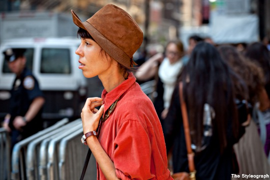 women's hat new york fashion week day 8