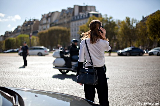 after dior fashion week street style paris