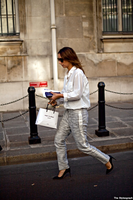 women's fashion week paris street style